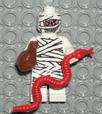 LEGO MUMMY MINIFIGURE w/ Snake Frog Animals Monster Fighters 9462