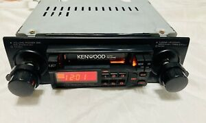 Kenwood KRC-1004 AM/FM Stereo Cassette Receiver  OLD SCHOOL 100% TESTED GOOD
