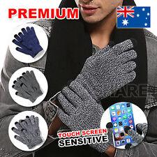 Women Men Warm Touch Screen Soft Wool Winter Gloves Warmer Mobile Phone