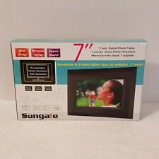 """Sungale CD705 7"""" Digital Picture Frame Brand New ( Opened Box )"""