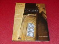 [ART ROMAN] M. RENOUE &  R. DENGREVILLE CONQUES TBE Beau Livre 1997 Soulages