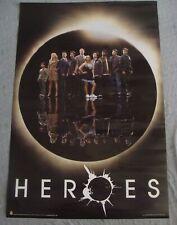 HEROES tv poster Hayden Panettiere Milo Ventimiglia Zachary Quinto original
