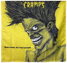 The Cramps Bad Music For Bad People Flag Poster 4x4ft banner