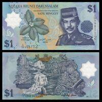BRUNEI 1 Ringgit, 2007, P-22, Sultan, UNC World Currency