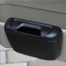 1pc Car Door Side Trash Can Bin Cargo Sundries Garbage Storage Collect Box Black