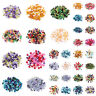 Pick Theme Colour Pearlized Glass Pearl Bead Jewelry Loose Spacer Beads 4/6/8mm