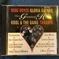 Greatest hits Rose Royce, Gloria Gaynor Kool & gang Tavares sealed CD