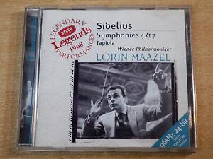 Sibelius/Symphonies 4 & 7/2000 Decca CD Album/Lorin Maazel