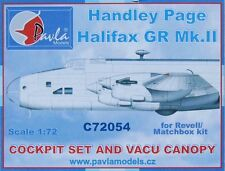 Pavla C72054 1/72 Resin Cockpit Handley-Page Halifax Matchbox Revell