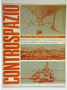 Controspazio n. 3 1970 Dedalo Rivista Architettura Riccardo Porro Michelucci