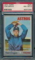 1970 Topps Set Break # 578 Tom Griffin PSA 8 *OBGcards*
