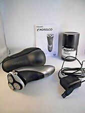 Norelco Philips Aquatec Rechargeable Cordless Triple Head Shaver Razor Men AT880