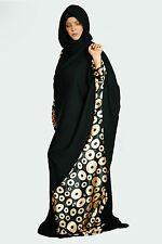 khaleeji Abaya dubai kaftan gulfs stylish dress maxi muslim Galabia Long Sleeve