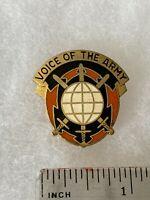 Authentic US Army 9th Signal Command Unit DI DUI Crest Insignia V21