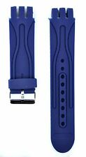 Fit For Swatch Scuba  21mm Blue Rubber Watch Strap SWC142 (Similar Strap)