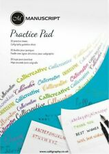 Manuscript Creative Writing Practice Pad | Calligraphy Writing Paper | 50 Pages