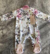 TED BAKER BABY GIRL AGE NEWBORN SLEEPSUIT 🎀🌸 BEAUTIFUL BNWT