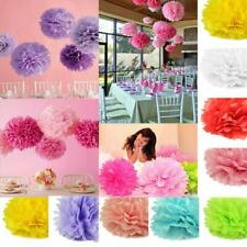Tissue Paper Pompoms Pom Poms Hanging Flower Balls Fluffy Wedding Decor