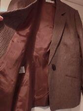 BN Country Casuals CC 100% linen jacket size 18 long classic elegant minimalist