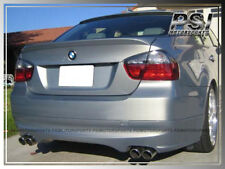 BMW E90 Unpainted OE Trunk Spoiler + AC Type Roof Lip 323i 328i 335i M3 4Dr