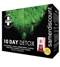 Rescue Detox 10 Day Permanent Cleanse Body Flush