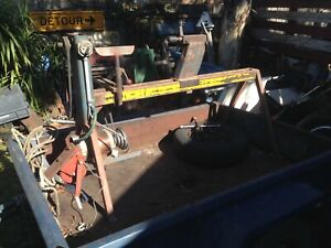 VINTAGE WOOD LATHE 4 SPEED 240 V RUNNING --LARGE 52 INCH BED -RUNS NICELY gc