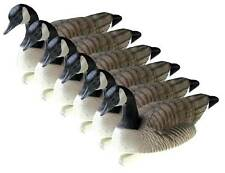 Final Approach Standard Floating Canada Goose Decoys, 6-Pack