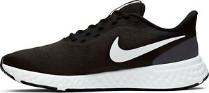 Nike Revolution 5 Men's Running Shoes. Color- Black/Anthracite/White. Size 10.5