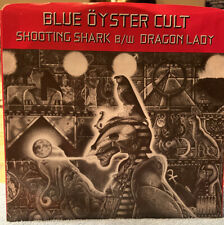 "BLUE OYSTER CULT Shooting Shark / Dragon Lady 1983 7"" Mint"