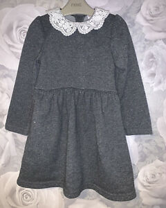Girls Age 2-3 Years - Long Sleeved Dress From Mini Club