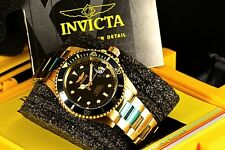 Invicta Pro Diver Men Automatic Date Gold IP 40mm Scuba Watch 8929OB
