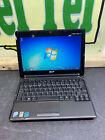 "Acer Aspire One 10.1"" Netbook Windows 7 Black Laptop Ready To Use Wifi 160gb Zg8"