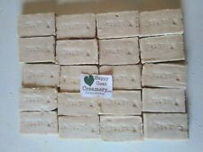 20 Bars Tea Tree Goat Milk Soap Pure Essential Oils Happy Goat Creamery Wholesal