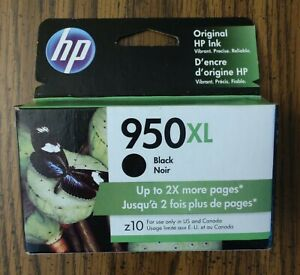 HP 950XL High Yield Ink Cartridge - Black Recently Expired: September 2021