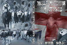 27 MEGA DVD BOX BRITISH STYLE (HOOLIGANS,CASUALS,UK,ENGLAND,CLASHES,HOOLIGAN)