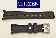 Citizen Watch band Rubber BLACK Strap BJ2135-00E BJ2145-06E 4-S065551F