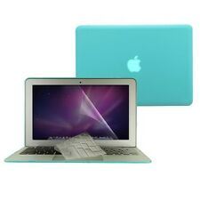 """3 in1 Crystal  Tifany BLUE Case for Macbook Air 13"""" A1369+Key Cover+LCD Screen"""