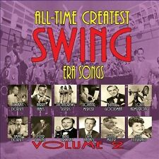 NEW All Time Greatest Swing Era Songs V.2 [3 CD] (Audio CD)