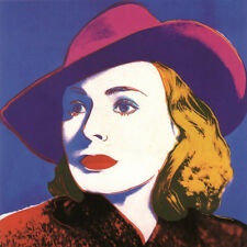 ANDY WARHOL - Ingrid with Hat (Small) Offset Lithograph ART PRINT 25x23 Poster