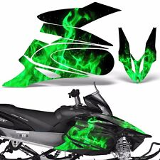 Yamaha APEX Decal Wrap Graphic Kit XTX Part Sled Snowmobile 2006-2011 ICE GREEN