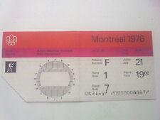 Billet Olympic Games Montréal 21.07.1976 - Boxing (19:00)