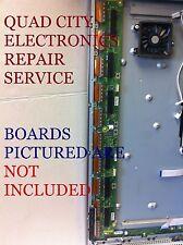 REPAIR SERVICE for TNPA5340 SU Or TNPA5341 SD Boards TCP55GT30 Etc. 7 blinks