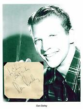 Dan Dailey Autograph Actor Take Me Out to the Ballgame In the Good Old Summerti