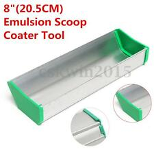"8"" 20cm Emulsion Scoop Coater Silk Screen Printing Press Aluminum Coating Tool"