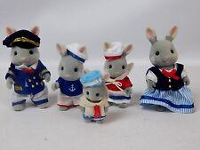 Sylvanian Families Celebration Sea Breeze Rabbit Family Figures