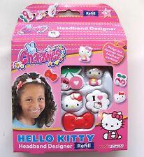 Hello KITTY charmies Cerchietto Designer RICARICA PACK-NUOVO e inscatolato come immagine!