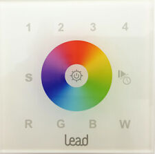 Wcc Touch Interruptor Wall Control Dynamic Color LED Paneles Lead Energy Cristal