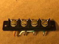 Sony STR-7065 SPEAKER TERMINAL JACKS - Vintage Receiver Parts STR-7055 STR-7045