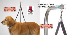 Dog Grooming NO SIT/LIE DOWN RESTRAINT HARNESS LOOP SYSTEM Nylon for Table Arm
