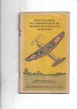 1936. Aviation. Jeu. Maquette. Manuel. Construction. Avions. Jeanjean. Roussel.